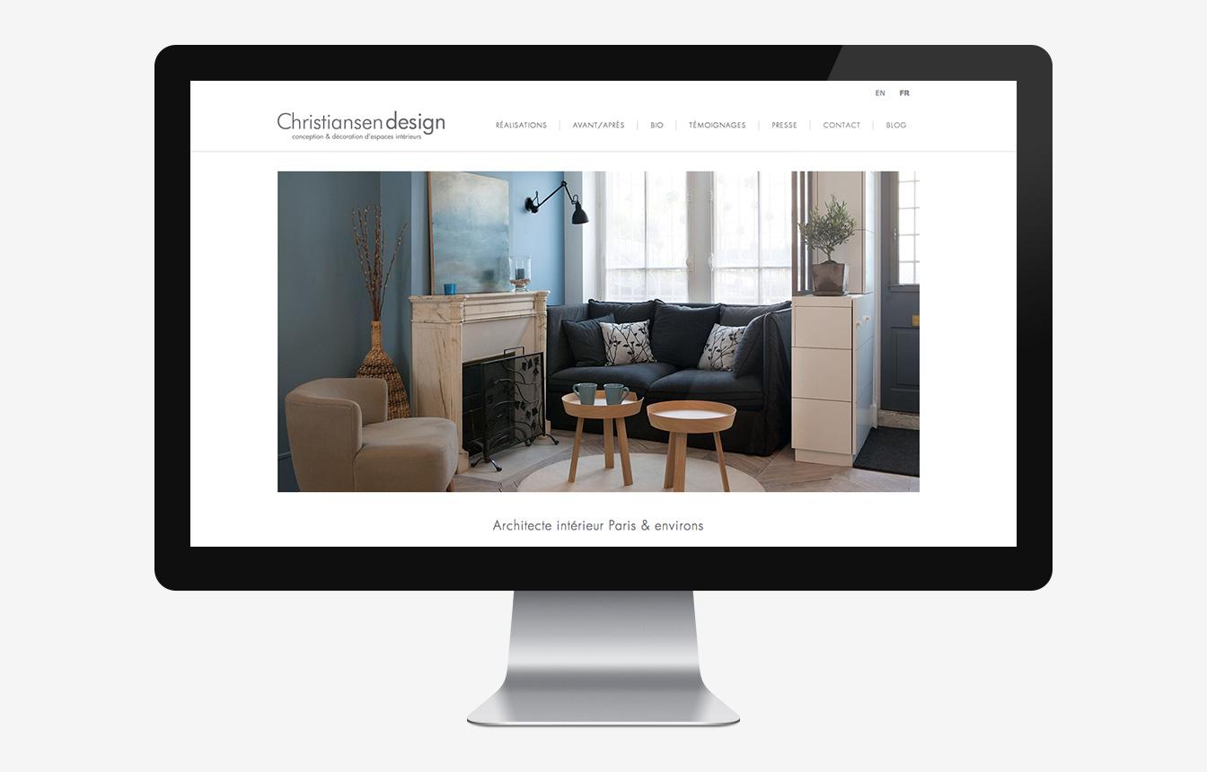 Christiansen design - Site web
